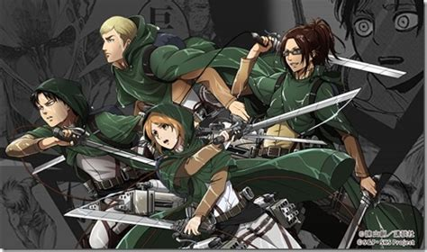Attack On Titan Browser Games Special Event Tells Levis