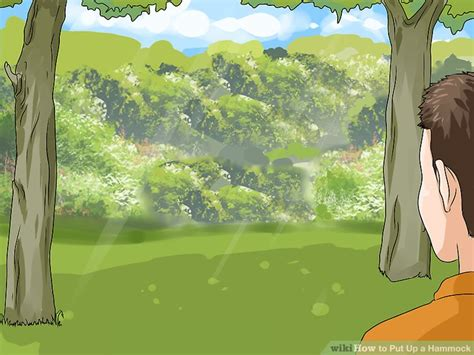 How To Put A Hammock Up by How To Put Up A Hammock 9 Steps With Pictures Wikihow
