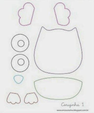 patrones de lechuzas de tela para imprimir portal de manualidades