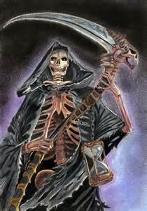 Grim Reaper Pencil Drawings