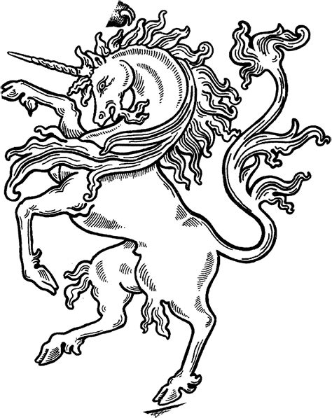 @complicolor unicorn coloring sheet #MythicCreatures
