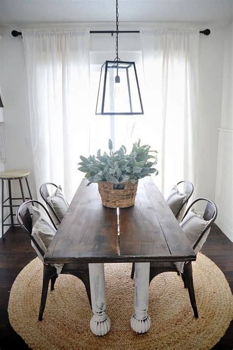 farm table with metal chairs rustic metal wood dining chairs with a farmhouse table