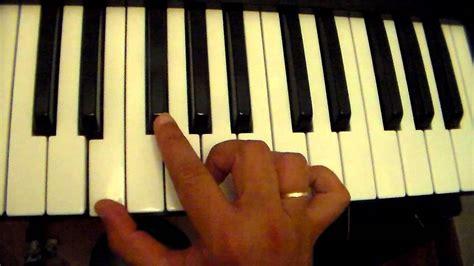 si鑒e de piano escala e acorde mi menor tutorial aula de piano teclado