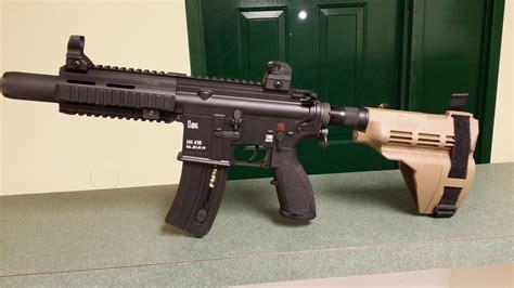 hk  lr pistol  sigtac braceinstallation page