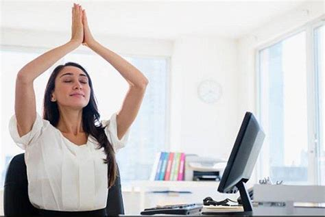 5 Yoga Poses You Can Do At The Office  Youth Village Zimbabwe