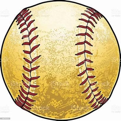 Softball Dirty Vector Baseball Illustrations Clip Sport