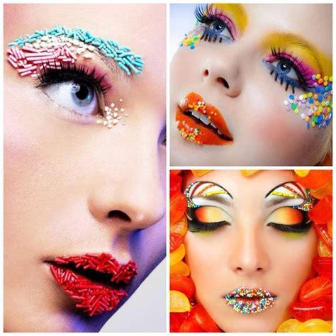 pin  cristin charzewski  sprinkle shoot candy makeup candy photoshoot fantasy makeup