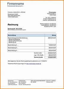 5 vorlage rechnung kostenlos lesson templated for Rechnungkostenlose