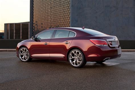 New Buick Lacrosse Gl Concept Gets All Dressed Up For The