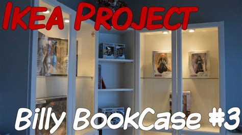 ikea project billy bookcase part  youtube