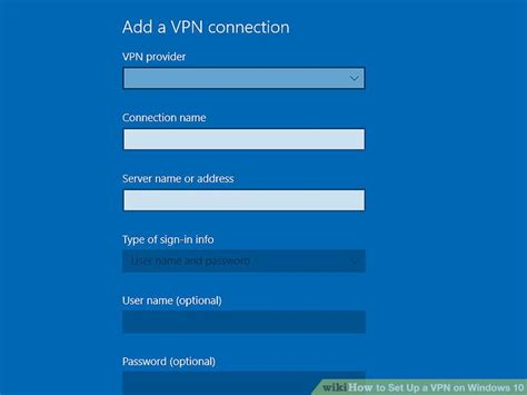 how to set up a vpn on windows 10 9 steps with pictures