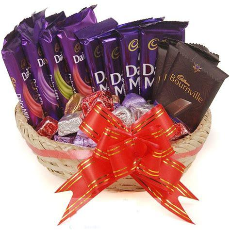 cadbury chocolate combo  gorumet chocolate basket