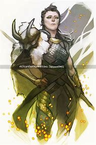 Lady Loki Fan Art