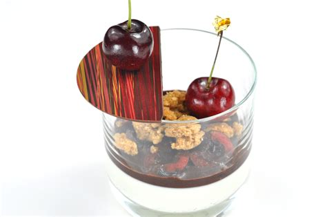dessert in a glass dessert in a glass recipe pastry chef author eddy van damme