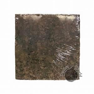 Plaque De Liege : plaques en li ge naturel noir 2 plaques de 50x50x2cm ~ Melissatoandfro.com Idées de Décoration