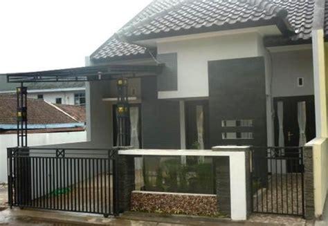 contoh desain rumah tampak depan desain rumah mesra