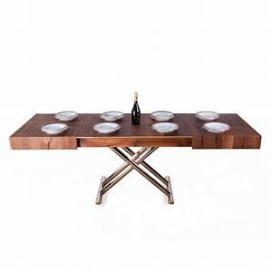 Table Basse Bois : table basse relevable bois meubles et atmosph re ~ Teatrodelosmanantiales.com Idées de Décoration