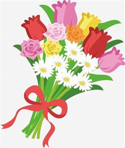 Bouquet Clipart Flower Flowers Clip Hand Painted