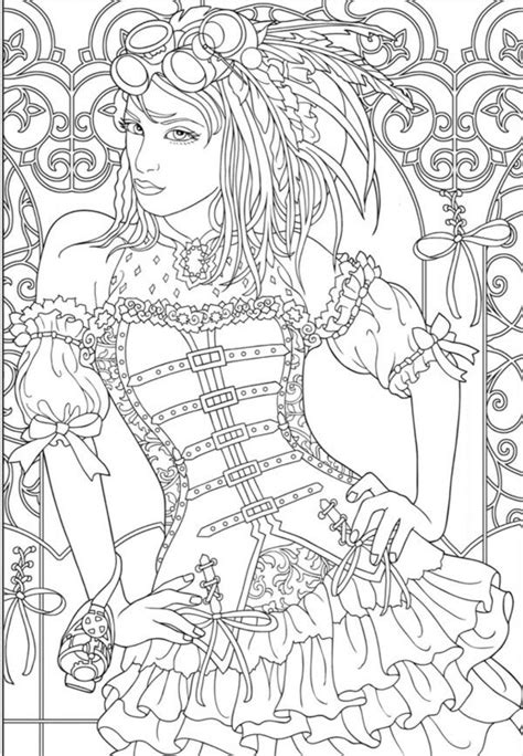 Tattoo Instructions | Steampunk coloring, Coloring pages