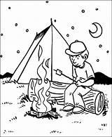 Coloring Pages Camping Bbq Night Printable Sheets Boy Fun Print Papa Boys Books Getcolorings Coloringsun Template Jobs sketch template