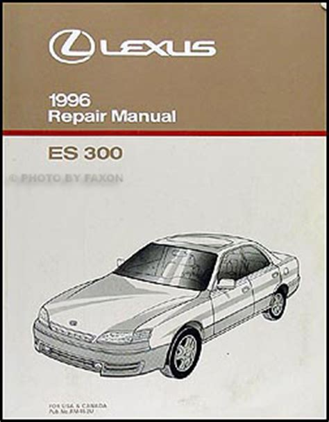 car repair manuals online free 1996 lexus es electronic valve timing 1996 lexus es 300 wiring diagram manual original