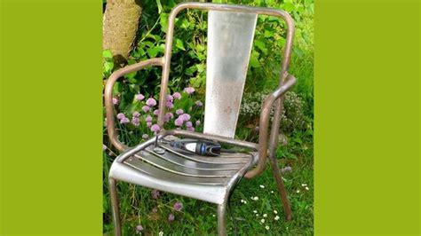 chaise d ecole rénover et restaurer un fauteuil de jardin rouillé
