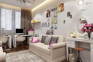 Jugendzimmer Mädchen Ideen : m dchen jugendzimmer 24 ideen mit unterschiedlichen stilen ~ Sanjose-hotels-ca.com Haus und Dekorationen