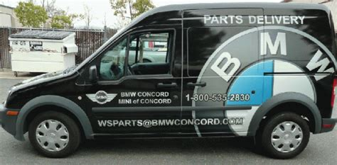 Bmw Brands A Ford Transit Connect  Concord Ca