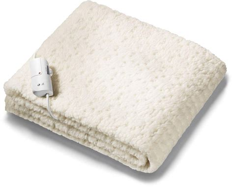 Monogram Komfort Fitted Heated Blanket Single No Sew Fleece Tie Blanket Kits Custom Baby Security Blankets Instructions For Doily Crochet Pattern Red Heart Joann How To Make A On Round Loom Dreamland 6964 King Dual Control Intelliheat Electric Heated Under Without Knots