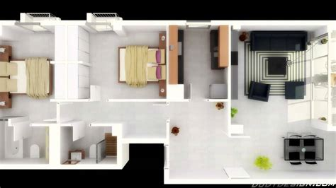 Ideas For 2 Bedroom Apartment by How To Decorate Two Room Apartment Theydesign Net