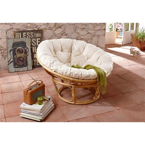 fauteuil rond design loveuse en rotin home affaire