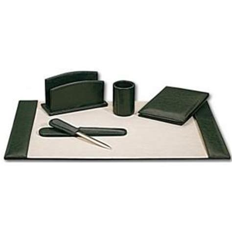 set de bureau cuir set de bureau cuir vert surdiscount destockage grossiste