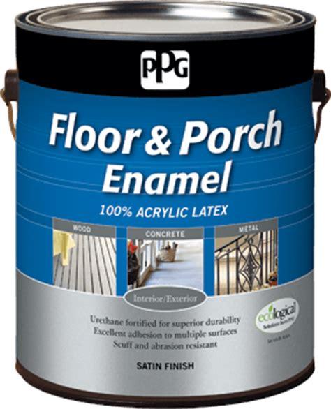 ppg floor porch paint  ppg porter paints