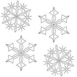 Christmas Snowflake Coloring Page