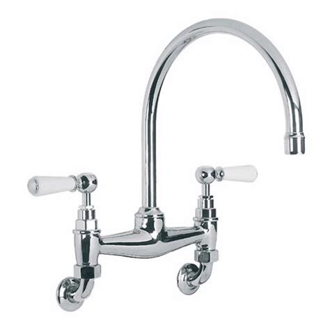 lefroy brooks  classic wall mounted kitchen mixer