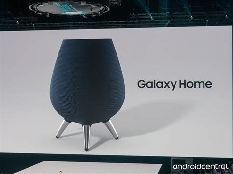 samsung enters the smart speaker market with galaxy home