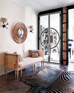 African Decoration Accents In The Interior Design