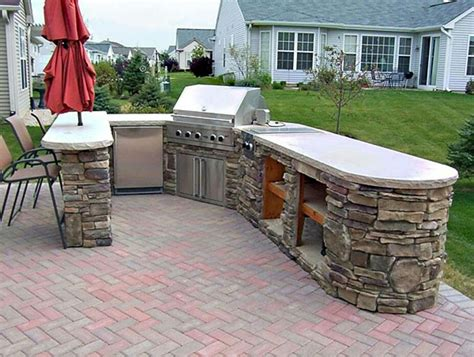 Backyard Built In Bbq by Built In Bbq Outdoor Kitchen
