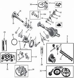 Diagram Axles Jeep Xj Cherokee 1984  2001