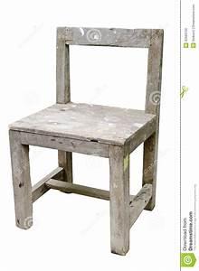Chaise Bois Vintage : vieille chaise en bois de vintage d 39 isolement sur le fond blanc photo stock image 32583750 ~ Teatrodelosmanantiales.com Idées de Décoration
