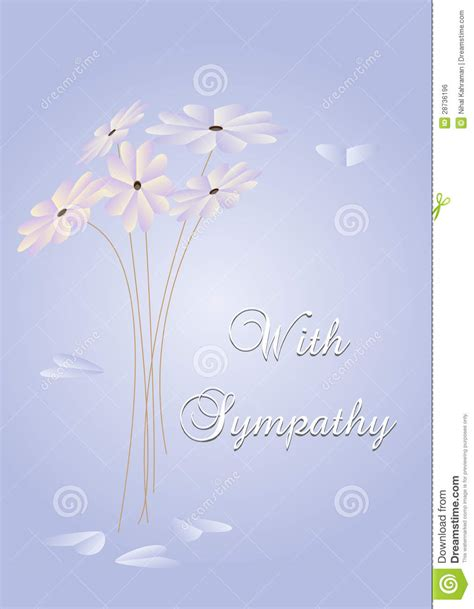 sympathy card royalty  stock image image