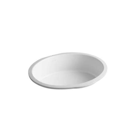 Kohler Verticyl Oval Undermount Sink by Kohler Verticyl Oval Undermount Bathroom Sink In Honed