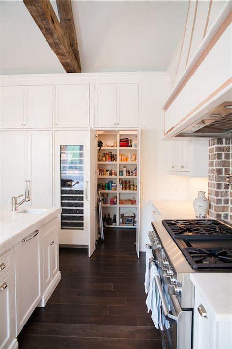 Hidden Walk In pantry   Transitional   Kitchen