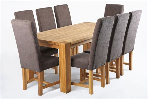 fabric dining chair with oak legs tiramisu