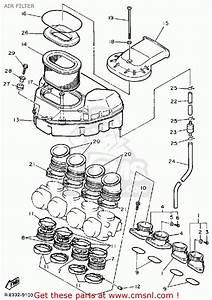 Yamaha Fzr1000 1989  K  Usa Air Filter