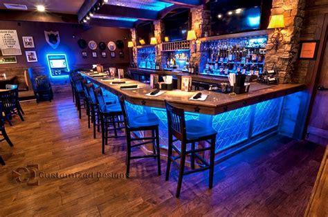Bar Lighting Ideas by Low Profile Liquor Shelves What I Call Home Bar