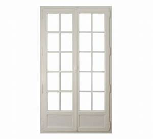 prix portes fenetres pvc leroy merlin With porte d entrée pvc avec plateau bois salle de bain