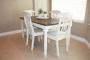 kitchen table refinishing ideas country home kitchen table refinished