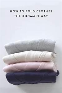 Magic Cleaning Kleidung Falten : how to fold clothes the konmari way healthy living kleidung falten diy kleiderschrank ~ Orissabook.com Haus und Dekorationen