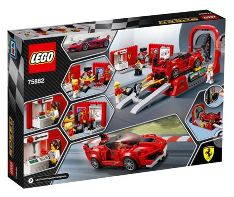 These are the instructions for building the lego speed champions ferrari fxx k & development center that was released in 2017. LEGO Speed Champions: Ferrari FXX K & Development Center (75882) | Toy | at Mighty Ape NZ